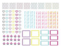 ..:: Full Faith ::..: Free Planner Stickers pregnancy countdown dr printable Erin condren the happy planner plum planner limelife planner