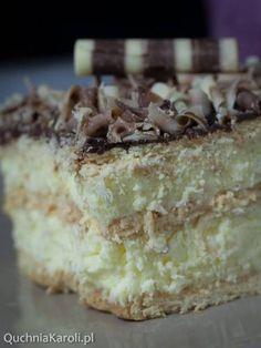 Easy Blueberry Muffins, Blue Berry Muffins, Cheesecake, Classic Cake, Polish Recipes, Dessert Recipes, Desserts, Vanilla Cake, Bakery