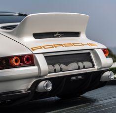 Porsche 911 Reimagined by Singer Porsche 930, Porsche 911 Singer, Singer 911, Porsche Classic, Classic Cars, Porsche Sports Car, Porsche Cars, My Dream Car, Dream Cars