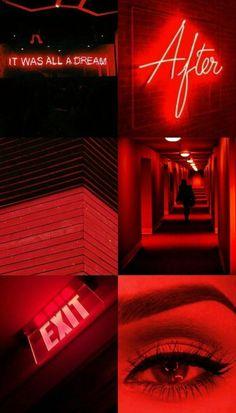 Desktop Wallpaper Black, Aesthetic Desktop Wallpaper, Aesthetic Backgrounds, Red Aesthetic Grunge, Aesthetic Colors, Aesthetic Collage, Aesthetic Dark, Telephone Retro, Rainbow Aesthetic