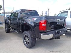2013 Chevy Silverado 2500HD Diesel Rocky Ridge Conversion Lifted Truck