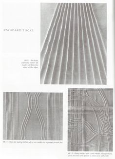 Pattern, Color, and Texture: Structured Fabric Manipulations