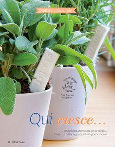 Segnanome per piante aromatiche DIY