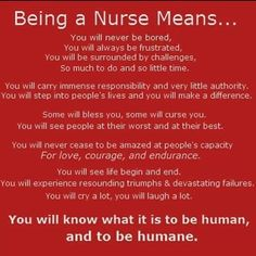 I have seen this frequently since becoming a nurse and I still love it every time I read it