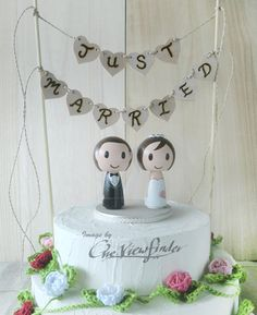 Customize Rustic Cake Bunting by Oneviewfinder on Etsy, $30.00 - cute