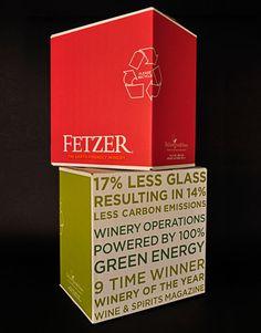 Creative Wine, Boxed, Fetzer, Vineyards, and Shipper image ideas & inspiration on Designspiration Wine Packaging, Packaging Design, Branding Design, Online Wine Store, Carton Design, Wine And Beer, Box Wine, Custom Bottles, Wine Brands