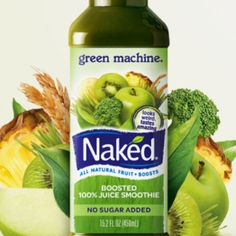 Naked Juices may make you feel great! But they are terrible if you have ACNE prone skin! Anything high in algae, chlorella, spirulina, Blue Green Algae, or Carageenan are ACNE TIME BOMBS! Enjoy if you aren't acne prone! Go for Low-glycemic beverages too! Juice Drinks, Juice Smoothie, Smoothies, Green Machine Recipes, Healthy Snacks, Healthy Recipes, Spirulina, Acne Prone Skin, Eat Right