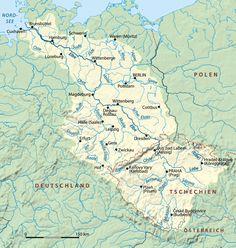 Elbe Einzugsgebiet - Rio Elba – Wikipédia, a enciclopédia livre