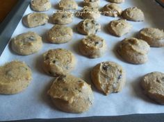 Chocolate Chip Chickpea Cookies (Grain Free/ Gluten Free/ Refined Sugar Free/ Dairy Free/ Egg Free)