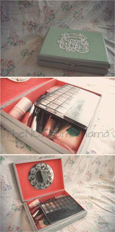 Repurposed Cigar Box