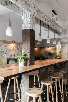 rustic and industrial bar design in Australia, The Nelson - italianbark 3