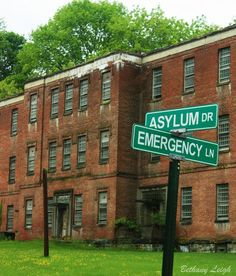 Lunatic Asylum - Abandoned - Bethany Leigh Photography