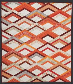 Fire Drill quilt from Modern Patch Work by Elizabeth Hartman