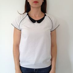 t-shirt must have col claudine