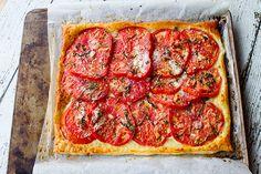 Italian Food Forever » Quick & Easy Rustic Summer Tomato Tart
