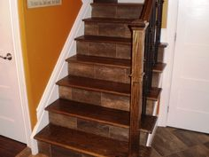 Wood stair treads & There are a number of home staircase designs, and many reasons for changing steps. If your& The post Replace Wood Stair Treads appeared first on LIVELIHOOD TECHNOLOGY DECOR. Oak Stairs, Wooden Stairs, House Stairs, Carpet Stairs, Hardwood Stair Treads, Hardwood Floor, Slippery Stairs, Stair Supplies, Stair Tread Covers