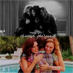 Brooke+Haley+Peyton friendship through the years