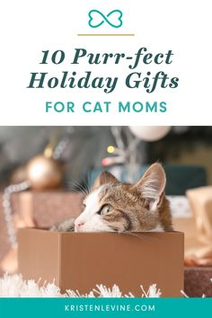 Do you have a cat mom on your holiday shopping list? Find the best gifts for cat moms here. And don't forget a special gift for the cat in your life! Cat Gifts, Gifts For Pet Lovers, Special Gifts, Holiday Gifts, Don't Forget, Pets, Unique Toys, Live Happy, Love Pet