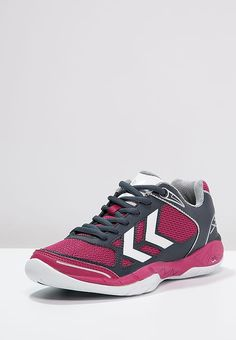 the best attitude f816e debda Hummel OMNICOURT Z4 Handball shoes sangria Sports at Zalando UK   upper  material  imitation leather