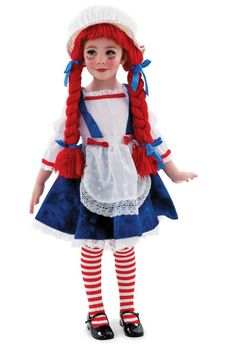 Are you looking for a Yarn Babies Rag Doll Girl Child Costume? Browse through our vast collection of exciting items for the Yarn Babies Rag Doll Girl Child Costume. Rag Doll Halloween Costume, Disfarces Halloween, Raggedy Ann Costume, Halloween Infantil, Couple Halloween Costumes For Adults, Doll Costume, Art Costume, Costume Makeup, Toddler Costumes