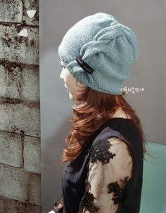 """""""로마로 고고""""...꽈배기모자/모자뜨기/비니뜨기 : 네이버 블로그 Hand Warmers, Knitted Hats, Shawl, Diy And Crafts, Scarves, Knitting, Knits, Fashion, Caps Hats"""