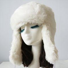 $12.40 Chic Fluffy Fluff and Ribbons Decorated Trapper Hat For Women