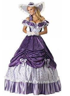 Vintage Purple Lace Victorian Lolita Dress