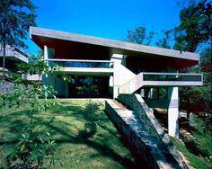 Harry and Penelope Seidler House, view from North, Killara, Sydney, 1966-67 | Harry Seidler
