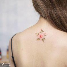무궁화,무궁화, 우리 나라 꽃~:) Rose of sharon which is national flower of Korea #무궁화 #꽃타투 #수채화타투 #타투 #아로새기다 #아로새기다타투 #타투아티스트 #roseofsharon #roseofsharontattoo #flowertattoo #flower #watercolortattoo #watercolorflowers #tattoo #tattooart #tattoowork #arotattoo #inked #tattooedwomen