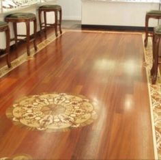 Home Legend Strand Woven Tiger Stripe In Thick X In Wide - Medallion bamboo flooring