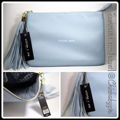 """#JUST IN[OLIVIA + JOY] FUTURE MRS. CLUTCH Clutch With Tags $38 Retail + Tax   Just want the whole world to know?  *All the room you need to carry your chin-ness *Top/Bottom length 10"""" *Depth 0.5"""" *Height 7"""" *Zipper top closure *Fringe tassel *Interior large side slip pocket   2+ BUNDLE=SAVE  ‼️NO TRADES--NO HOLDS--NO MODELING   Brand Items Authentic   ✈️ Ship Same Day--Purchase By 2PM PST    USE BLUE OFFER BUTTON TO NEGOTIATE  ✔️ Ask Questions Not Answered In Description--Want You To Be…"""
