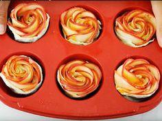 Jablečné růže z listového těsta