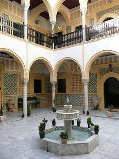 Courtyard, House of Yusuf Karamanli