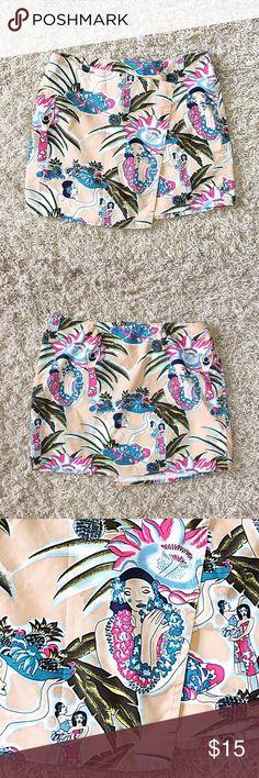 Urban Wrap Envelope Skirt Size 27. Light material. Wrap / envelope style. Gorgeous urban floral print. Lovely colors. Velcro closure. Mossimo Skirts Mini