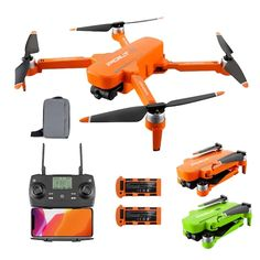 JJRC X17 (Two Battery) - $199.99 (coupon: Q63866B1FFD12001) 📉 5G Wifi FPV Drone Profissional 6K GPS with 2-Axis Gimbal Camera 28min Flight Time 1KM Brushless Drones RC Quadcopter - Two Battery / Orange #Quadcopter #Drone #дрон #квадрокоптер #gearbest #JJRC #X17 #coupon #купон 0762 Drone App, Drone Quadcopter, Drones, Camera Angle, Wide Angle, Sd Card, Wifi, Shake