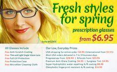 Zenni Optical - Eyeglasses, Prescription Glasses, Bifocal, Progressive Eyeglasses, Rimless Glasses