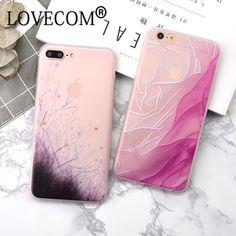 3D Relief Floral Painted Flowers Korean Soft TPU Matte Case Cover For iphone 6 6S Plus 7 7 Plus Cases Covers Coque Capa Fundas