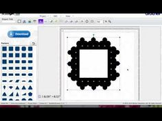 ScanNCut Lattice Shapes - YouTube