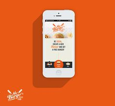 Mr. Burger's Festi Food on App Design Served