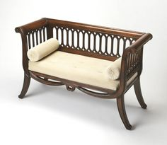 Shop Plantation Cherry Saxon Traditional Rubberwood Cotton English Settee with great price, The Classy Home Furniture has the best selection of to choose from Living Room Furniture, Home Furniture, Outdoor Furniture, Upholstered Bench, Settee, Furniture Deals, Contemporary Furniture, Living Spaces, Upholstery