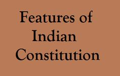 Features of Indian Constitution | GK | English | Aptitude | SSC | IBPS | Online Study Material