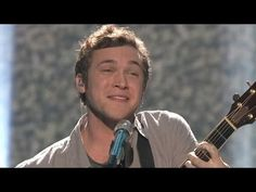 """Season 11: Phillip Phillips - """"Moving Out"""" - by Billy Joel.  This kid is already a star. <3"""