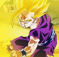 Gohan - Dragon Ball Z (Cell saga) via: http://yogaboi.tumblr.com/post/65310615811