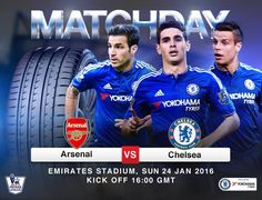 Yokohama Chelsea FC partnership.   IT'S MATCHDAY! Chelsea take on Arsenal at the Emirates.