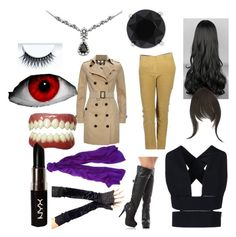 """""""TFA Random Blitzwing outfit"""" by the-insaine-animatronic ❤ liked on Polyvore featuring art"""