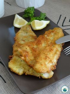 Filetti di pesce impanati alle erbe e limone Fish Dishes, Seafood Dishes, Seafood Recipes, Cooking Recipes, Healthy Recipes, I Love Food, Good Food, Food Humor, Light Recipes