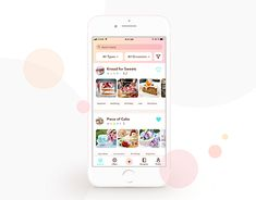 Cake App - UI designed by Laura Coman. Connect with them on Dribbble; the global community for designers and creative professionals.