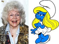 Lucille Bliss, actress who voiced Smurfette in 1980s animated series 'The Smurfs,' dies at 96. (The Hollywood Reporter; photo: John Mueller, Hanna-Barbera)