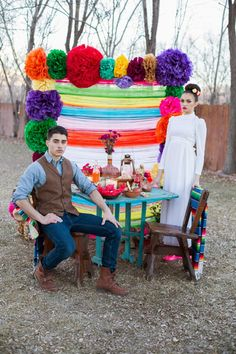 Viva La Vida: Mexican Inspired Wedding Photo-Shoot - Belle The Magazine