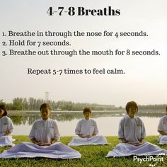 A powerful method of dealing with the stress of each day is to practice deep breathing exercises. Deep breathing exercises can help relieve any symptoms of Anxiety Relief, Stress And Anxiety, Stress Relief, Anxiety And Depression, Anti Stress, Yoga Breathing Techniques, Deep Breathing Exercises, Meditation Quotes, Yoga Meditation